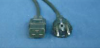 Power Cord CEE7/7 to C19 -- 4010014-00 - Image