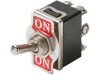 Heavy-Duty Toggle Switch, DPDT On-Off-On -- 603696