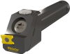 Height Adjustable Thread Turning Tool Holder for Back Working Sub Spindle Turning -- AST - Image