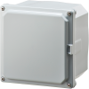 Nema and IP Rated Electrical Enclosure 6X6X4 -- H6064SF