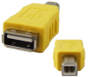 A Female to B Male USB Gender Changer -- 85-668 - Image