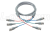 Deluxe RGB Multi-Coaxial Cable, 3 BNC Male / Male, 5.0 ft -- CTL3B-5