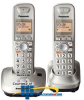 Panasonic DECT 6.0 PLUS Expandable Digital Cordless Phone.. -- KX-TG4012N
