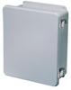 Non-metallic JIC series 16 x 14 x 6 inch (HxWxD) NEMA 4X ... -- HW-J161406CHQR
