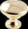Classic Knob, Polished Brass -- 814536