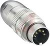 connector,circular din,male locking plug,7 contact,ip68 watertight -- 70151287