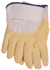 1725 Rubber Coated Gloves -- JT-1725-L-GOLD