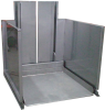 Stainless Steel Ground Level Lifts