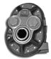 PTO Hydraulic Pump (Cast Iron Housing) Rear Ported