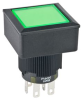 Lighted Pushbutton Switch Black DPDT -- 40309318727-1 - Image
