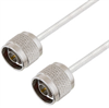 N Male to N Male Cable Assembly using LC141TB Coax, 3 FT -- LCCA30077-FT3 -Image