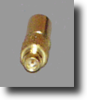 MMCX Straight Connector For RG316/LMR100 Coax -- RFC-12/316 - Image
