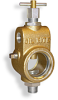 "Universal Sight Feed Valve, 3/8"" Female NPT Inlet, 3/8"" Male NPT Outlet, T-Handle -- B2501-2"