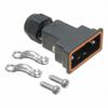 D-Sub, D-Shaped Connectors - Backshells, Hoods