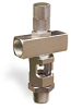 "Cross Heavy Duty Sight Feed Valve, Solid Gasket 1/2"" Female NPT Inlet, 1/2"" Male NPT Outlet, Tamperproof -- B748-6-S01 -- View Larger Image"