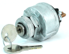 Pollak 31-103 4-Position Ignition Switch, Universal Housing, Acc-Off-Ign/Acc-Ign/Start -- 44061 - Image