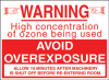 Ozone Caution Sign -- LM78