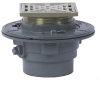 Floor Drain with Square Heavy Duty Strainer -- FD-100-L -- View Larger Image