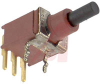 Switch, Pushbutton, TINY, Sealed, Surface Mount, ON-MOM., PC TerminalS/RT ANGLE -- 70128472