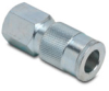 Air Coupling: quick-disconnect, steel, 3/8in ID 1/2in female NPT -- HC38-12F-A - Image