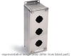 Stainless Steel Pushbutton Enclosure 1 Row Vertical -- 78211322476-1