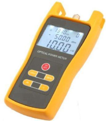 Handheld optical power meter suitable for construction and maintenance of fiber communications and CATV systems