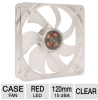 SilenX EFX-12-15R Effizio Silent Red LED Case Fan - 120mm, F -- EFX-12-15R