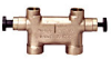 Bronze Lindsay Style By-pass Valve -- Divertaflo M9500 Series