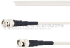 Broadband BNC Male to BNC Male Cable FM-SF200LL Coax in 72 Inch and RoHS Compliant -- FMTC501-72 -Image
