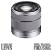 Sony SEL1855 Interchangeable Alpha E-mount Lens - For Sony A -- SEL1855