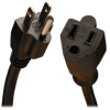 Heavy-Duty Power Extension Cord, 15A, 14AWG (NEMA 5-15P to NEMA 5-15R) 3-ft. -- P024-003