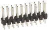 10+10 Pos. Male DIL Vertical Throughboard Conn. -- M20-9721045 - Image