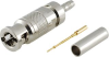 Micro BNC Connectors, Straight Cable, Plugs -- MBNCP-1855A - Image