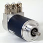 Blue Range CANopen Absolute Multi-Turn Encoder -- MHM5