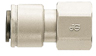 John Guest® NPTF Female Quick Connect Adapters - Image