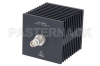 Medium Power 50 Watts RF Load Up To 18 GHz With TNC Female Input Square Body Black Anodized Aluminum Heatsink -- PE6216 -- View Larger Image