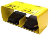Series 863 Dual - Cast Iron Dual Foot Switch in a Guard -- 863-2000-01 - Image