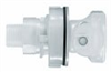 In-Line Coupling Body, pipe adapters, valved, 3/8