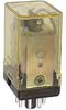 Relay;E-Mech;Power;DPDT;Cur-Rtg 10A;Ctrl-V 24AC;Vol-Rtg 240/30AC/DC;Pnl-Mnt -- 70174906