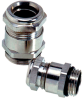 Nickel-Plated Brass Strain Relief Cable Glands with Sealing Capability up to 300ft (10 Bar), PG Thread -- SKINDICHT® SHV - Image