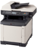 Color Multifunctional Printer - Standard Color Copy, Print, Scan, and Black & White Fax -- ECOSYS  FS-C2126MFP - Image