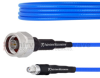 Precision 2.92mm Male to 2.92mm Male Cable RG-405 Coax in 24 Inch and RoHS Compliant -- FMCA1051-24 -Image