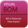 Visual BOM -- Bill of Materials Data Import