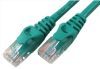 25' Molded Cat5e Patch Cable, Green -- 43-735GN