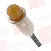 CHICAGO MINIATURE 1050A3 ( LAMP INDICATOR NEON AMBER ,125V,2W )