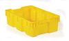 Vented S&N Cont,24x16x7-1/4,Yellow -- 10E155