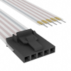 Flat Flex Cables (FFC, FPC) -- A9CAG-0504F-ND -Image