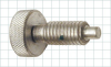 Hand-Retractable Plunger with Knurled Head