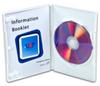 White Single DVD Case -- 3176