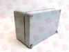 RITTAL 9105210 ( 0080H0125W0057D GA ALUMINUM JUNCTION BOX ) -Image